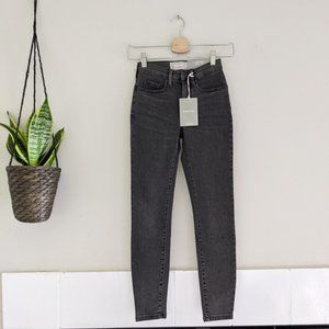 New Everlane The High-Rise Skinny Jeans in Black